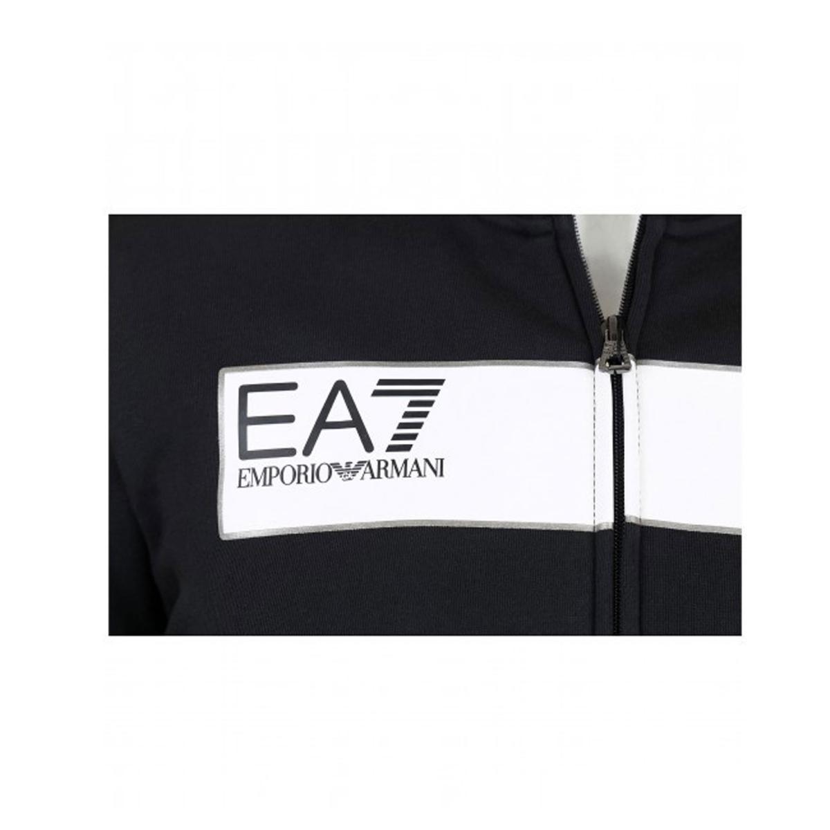 Felpa con logo Emporio Armani EA7 da uomo rif.6ZPM48 PJ07Z