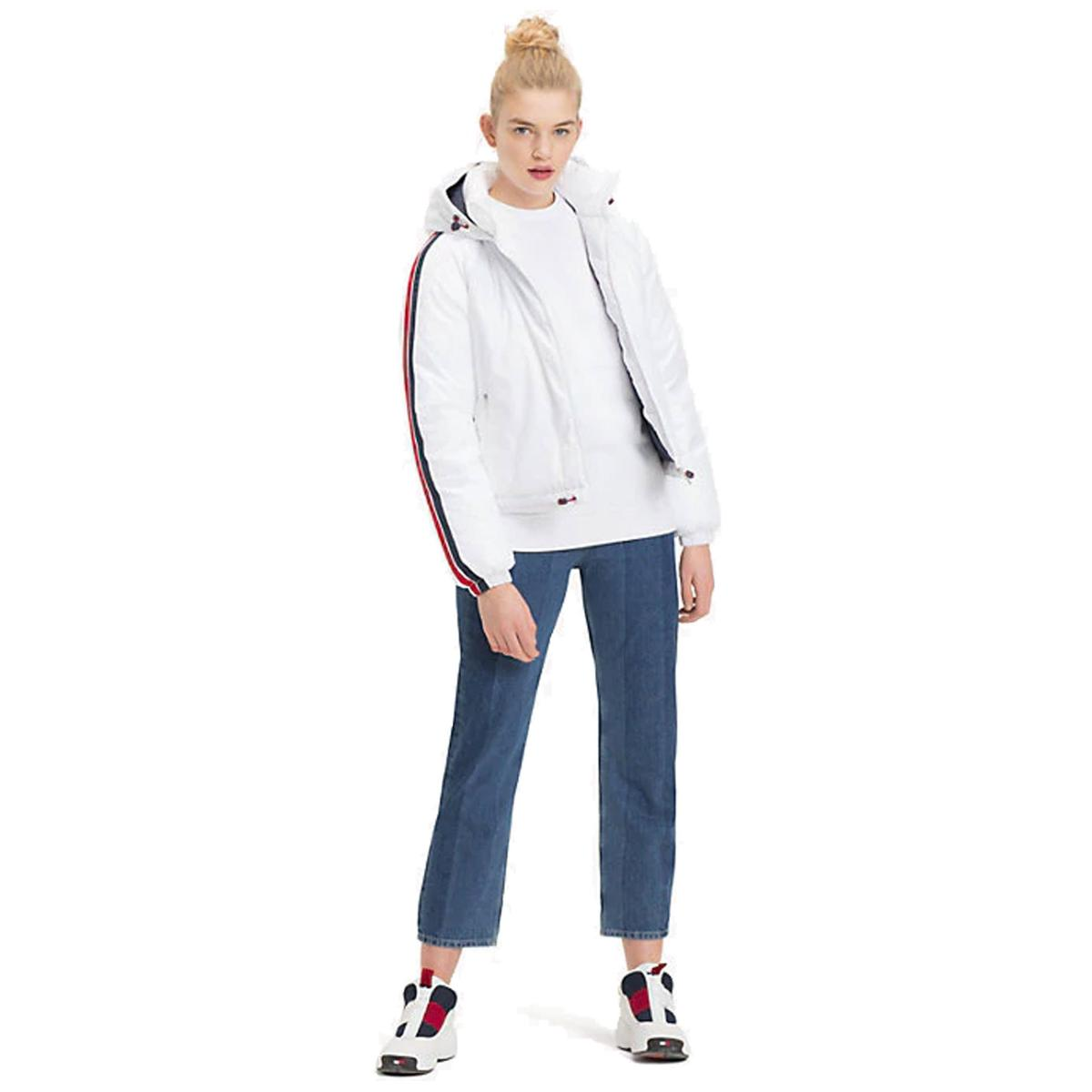 Giubbotto con nastro iconico Tommy Jeans da donna rif.DW0DW05170
