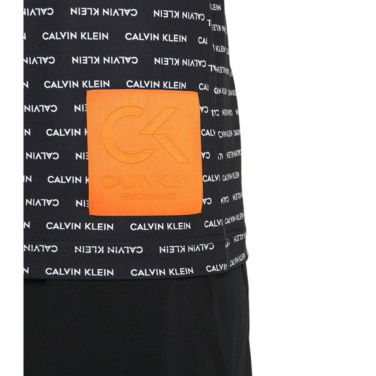 T-shirt con stampa Calvin Klein Performance Tee da uomo rif. 00GMF8K159