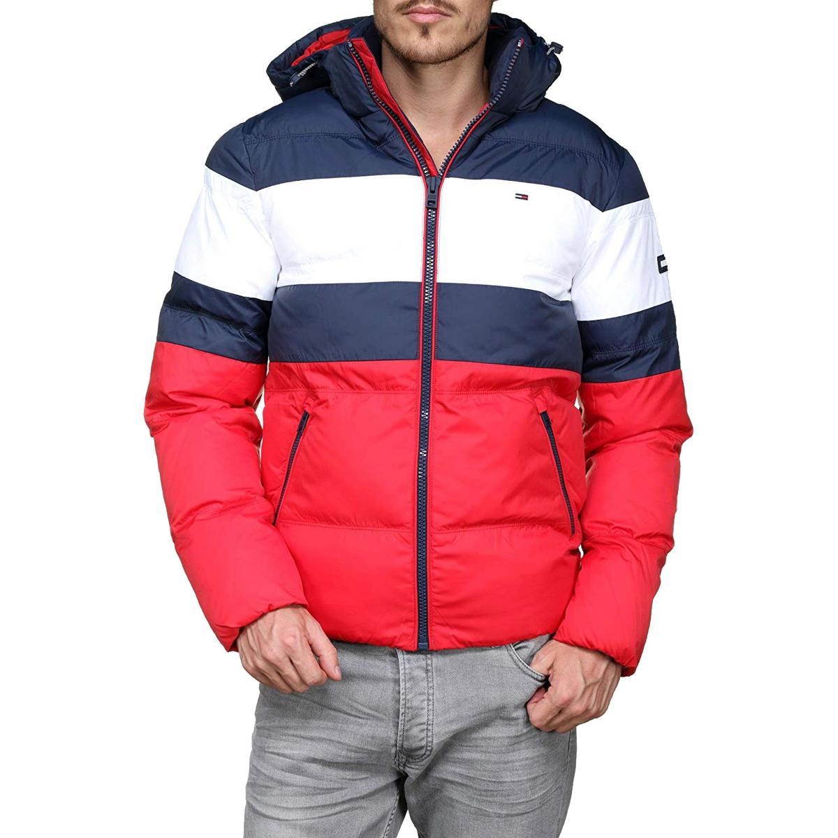 Giubbotto giacca rugby Tommy Jeans da uomo rif.DM0DM05024
