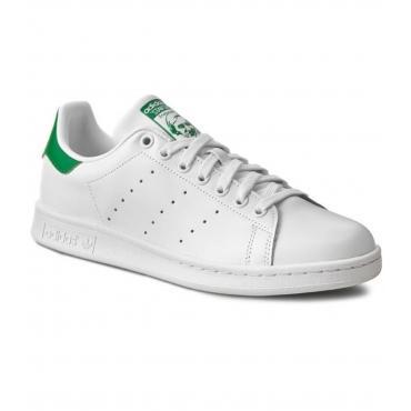 Scarpe Stan Smith Adidas da uomo bianco/verde Rif. M20324
