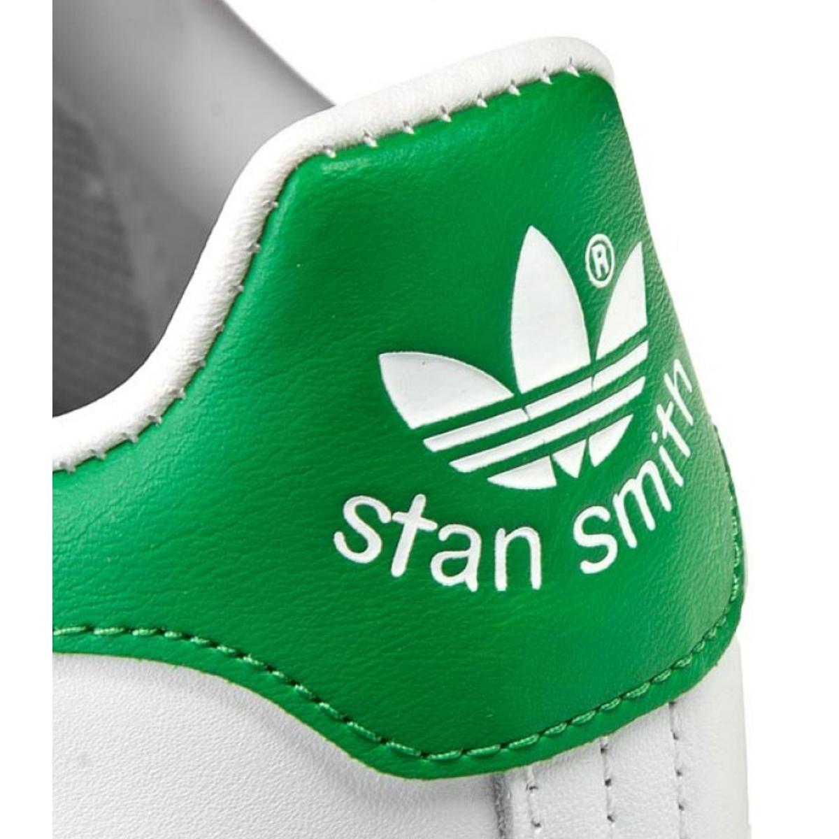Scarpe Stan Smith Adidas da uomo bianco/verde rif.M20324