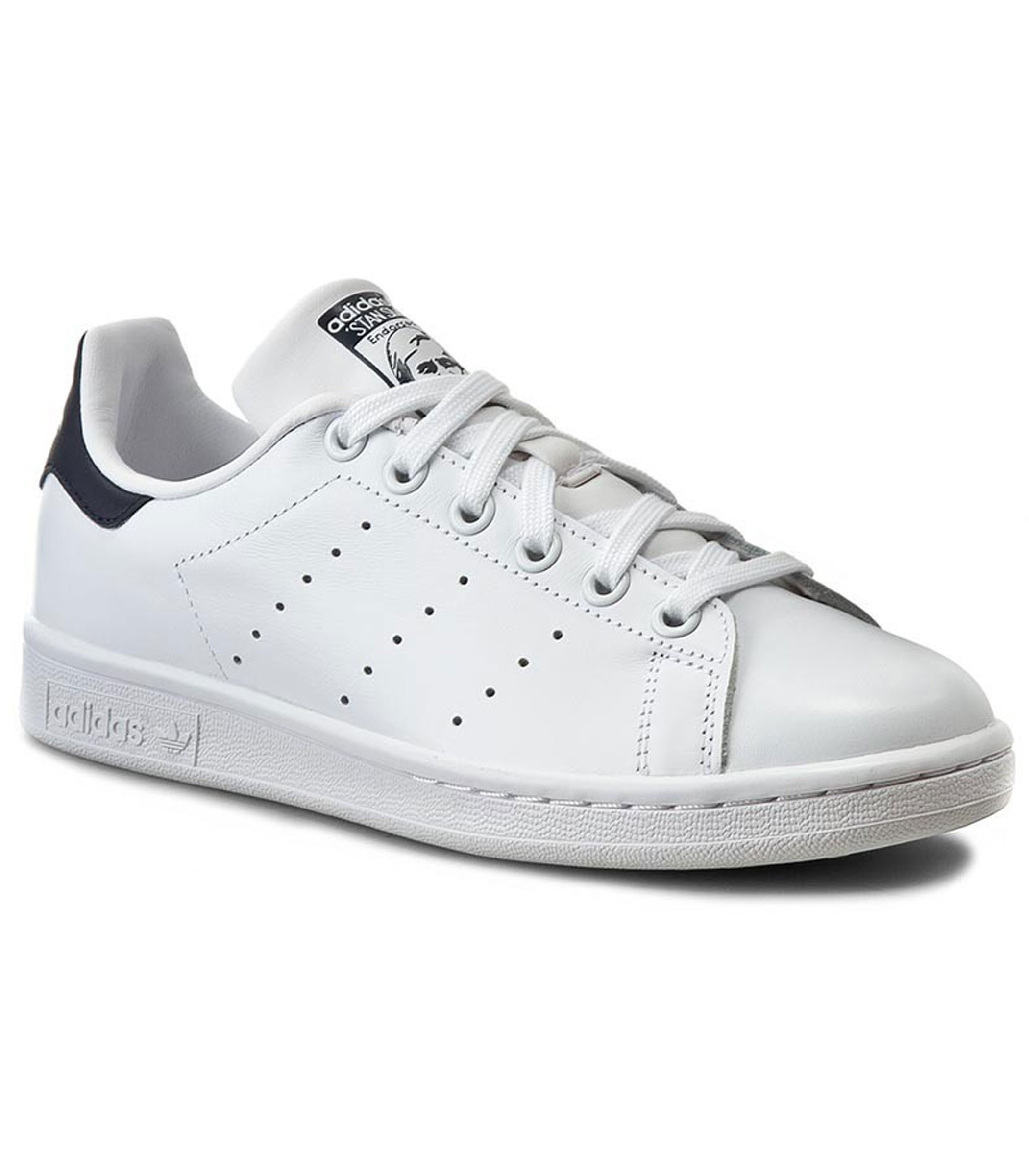 reputable site a24f7 b9fed Scarpe Stan Smith Adidas da uomo bianco blu rif.M20325