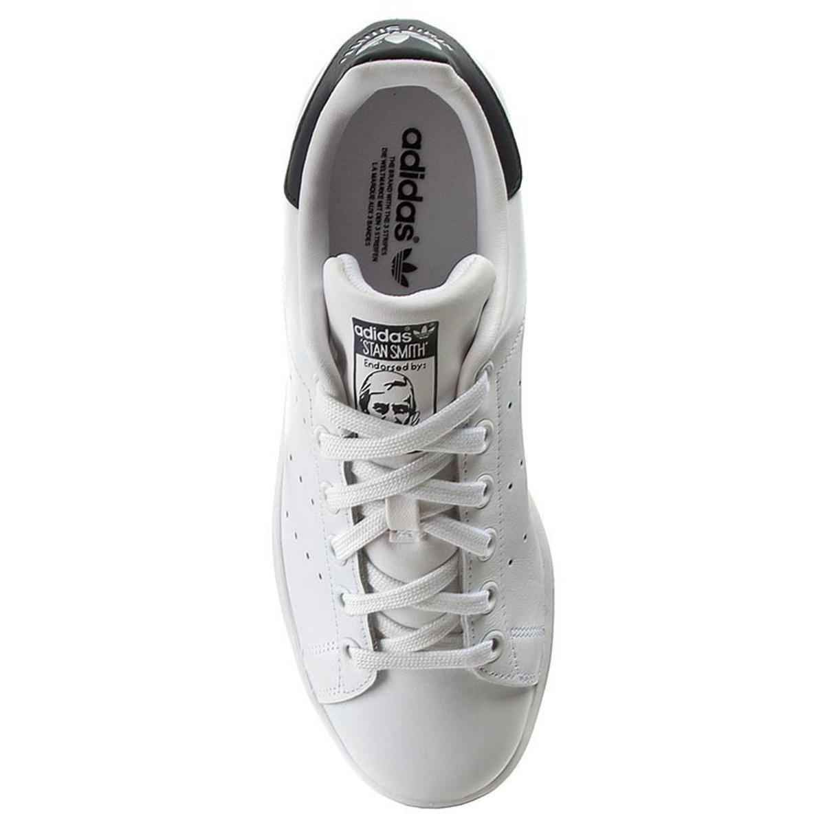 Scarpe Stan Smith Adidas da uomo bianco/blu rif.M20325