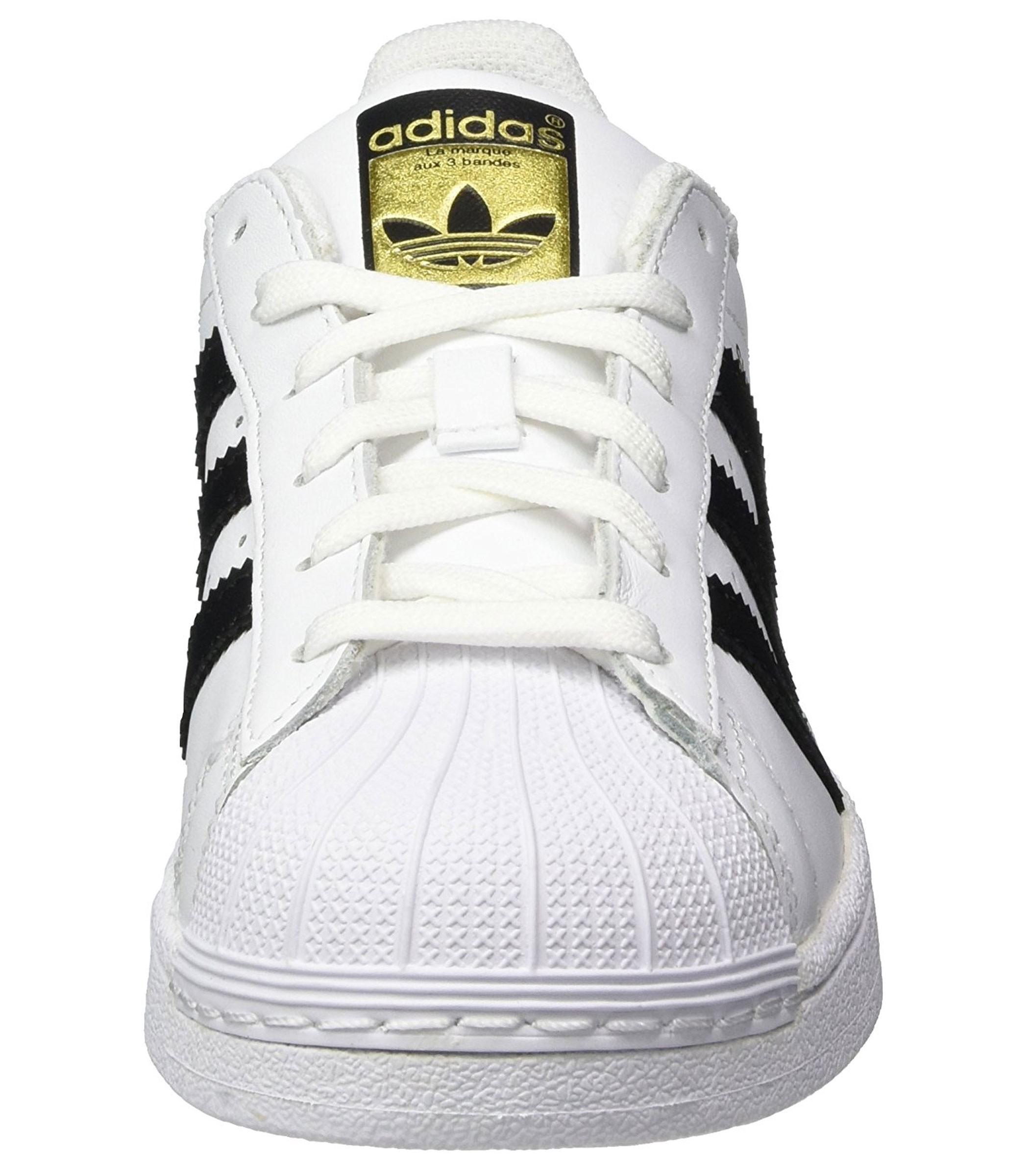 outlet store a8bfa fa524 Scarpe Sneakers Adidas SUPERSTAR J da ragazzo ragazza rif. C77154