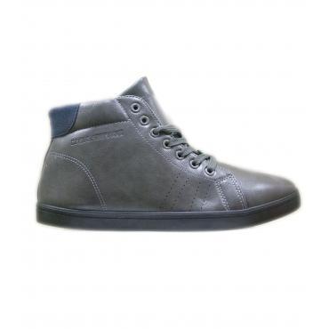 Scarpe sneakers da uomo a collo alto Baci e Abbracci con inserti in pelle scamosciata Rif. AS59022