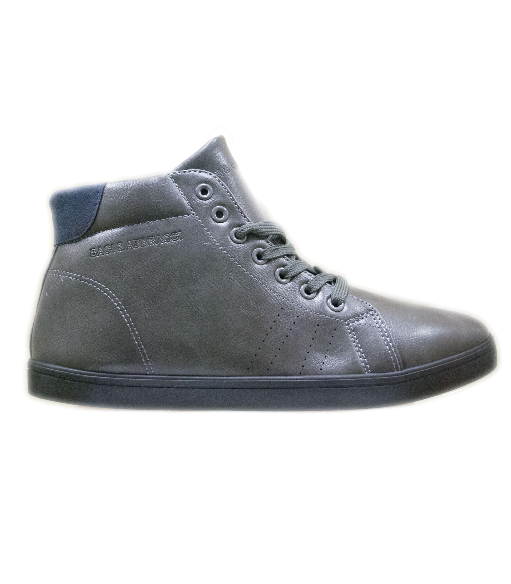 low priced 6e5d1 c6198 Scarpe Sneakers da uomo alte con suola in gomma