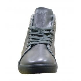 Scarpe sneakers  da uomo Baci e Abbracci con inserti in pelle scamosciata