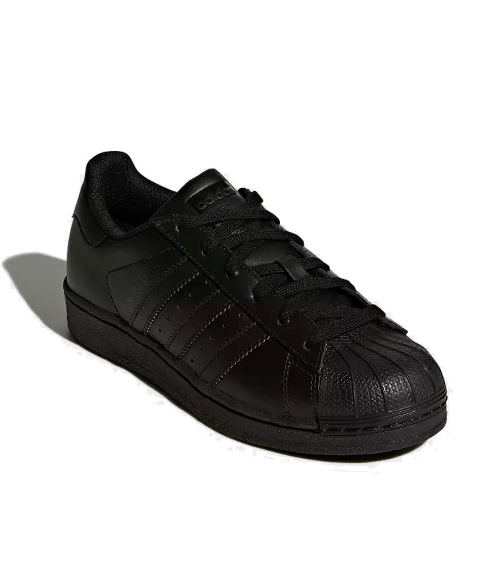 B25724 Scarpe Sneakers Adidas SUPERSTAR FOUNDATION J da ragazzo ragazza rif. 528f6aed065