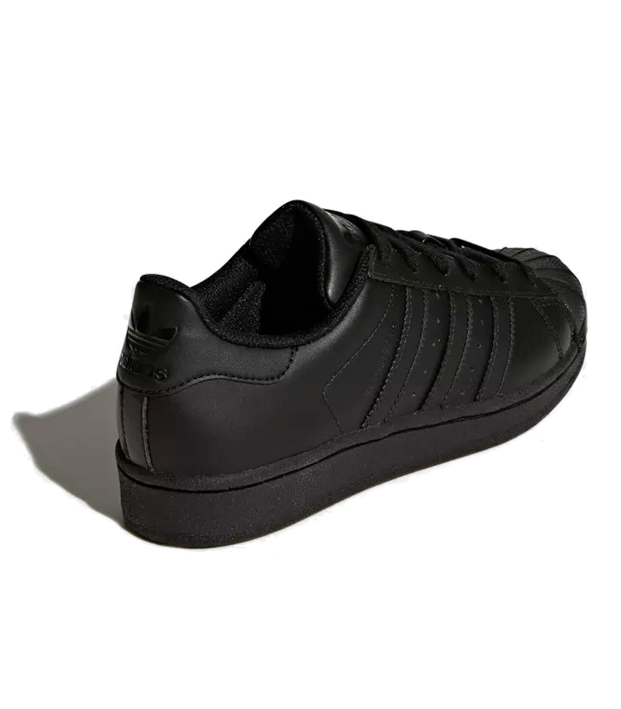 meet 1b37e 592b6 B25724 Scarpe Sneakers Adidas SUPERSTAR FOUNDATION J da ragazzo ragazza rif.