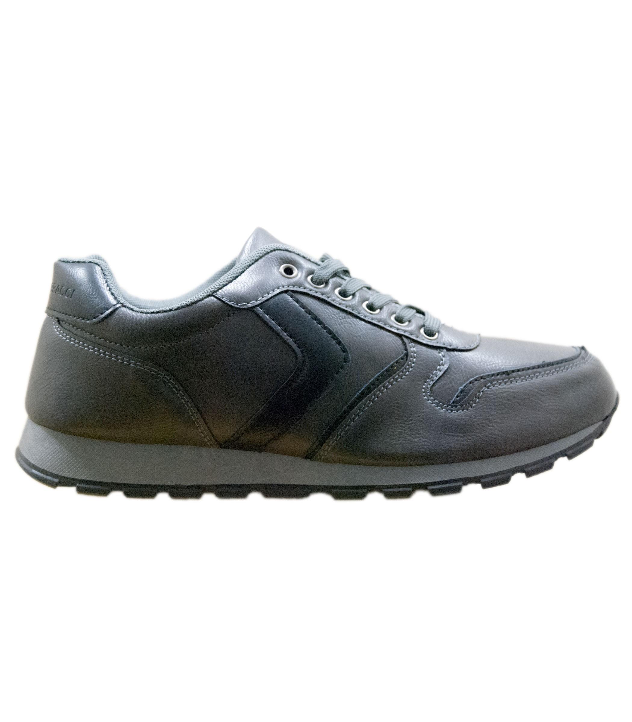 more photos e6a38 8c254 Scarpe Sneakers da uomo in simil pelle con suola in gomma