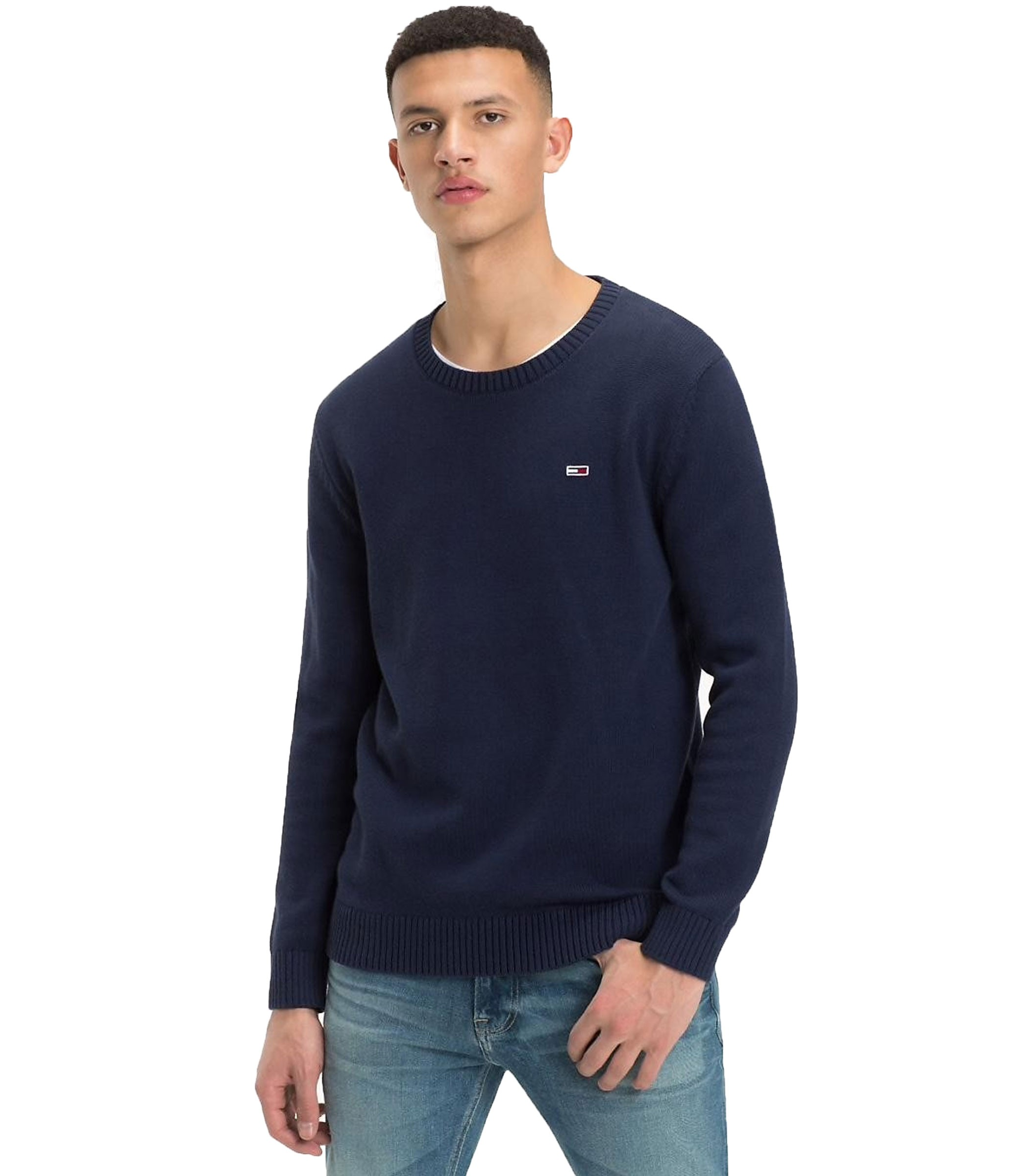 huge selection of eebb3 6ded8 Pullover Tommy Hilfiger Jeans Classics maglia da uomo rif ...