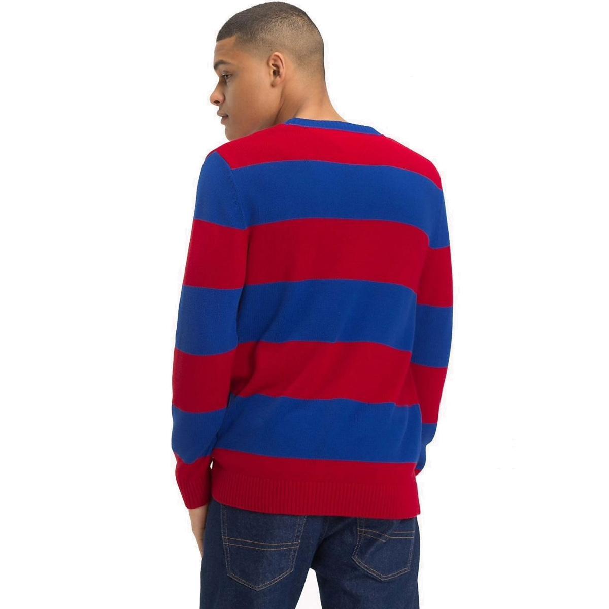 Pullover Maglione a righe Tommy Jeans Classics da uomo rif.DM0DM05063