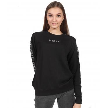 Felpa maglia con logo Pyrex da donna rif. 18IPC34407