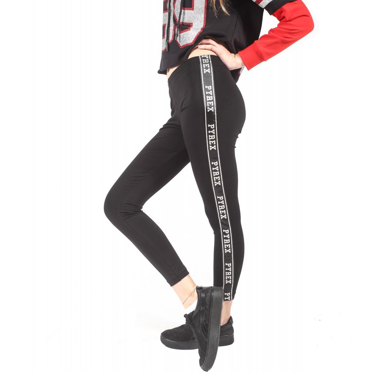 Leggings Pyrex con nastro con logo da donna rif. 18IPC34412