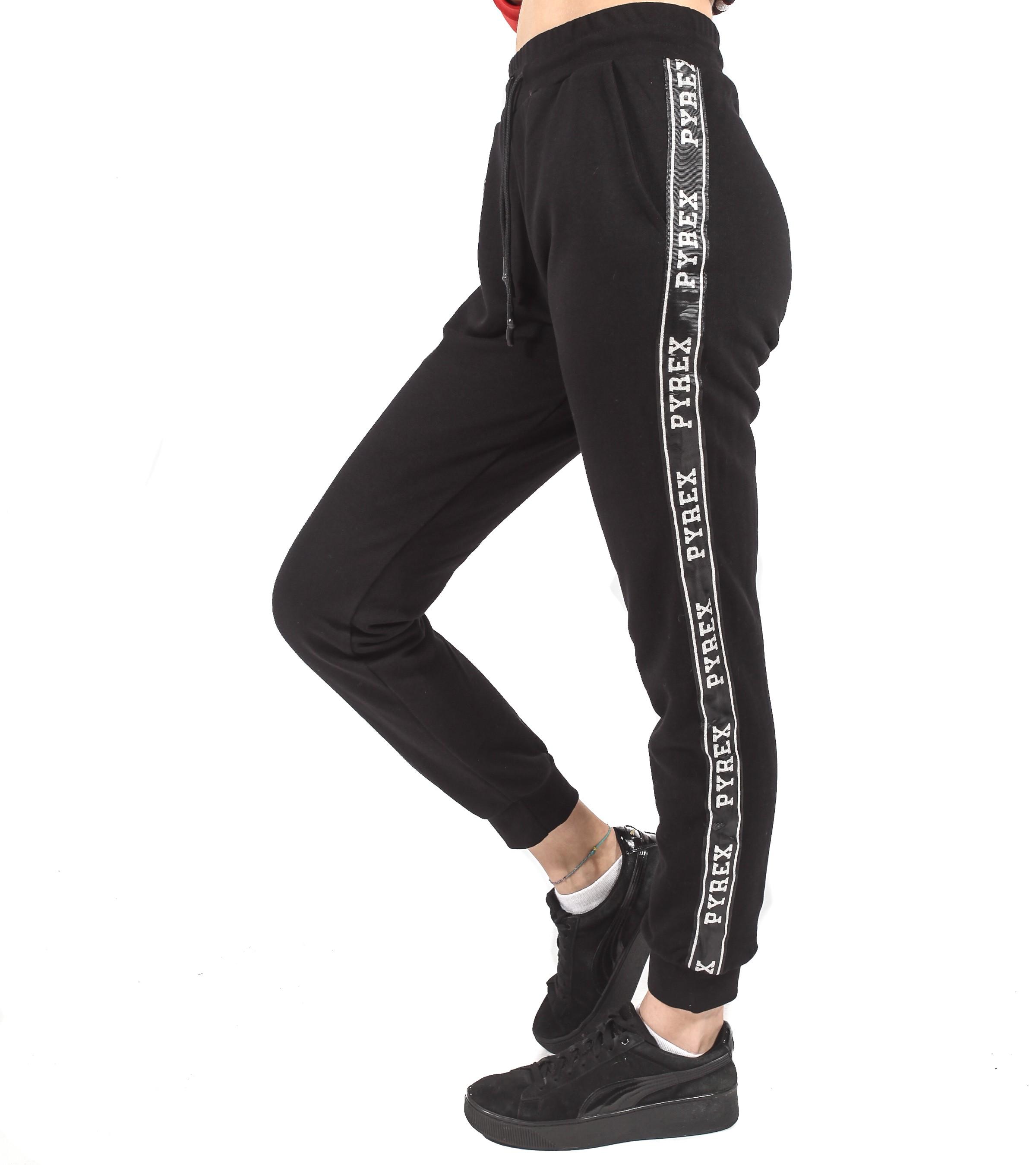 659cc48313 Pantalone tuta Pyrex con logo da donna rif. 18IPC34413