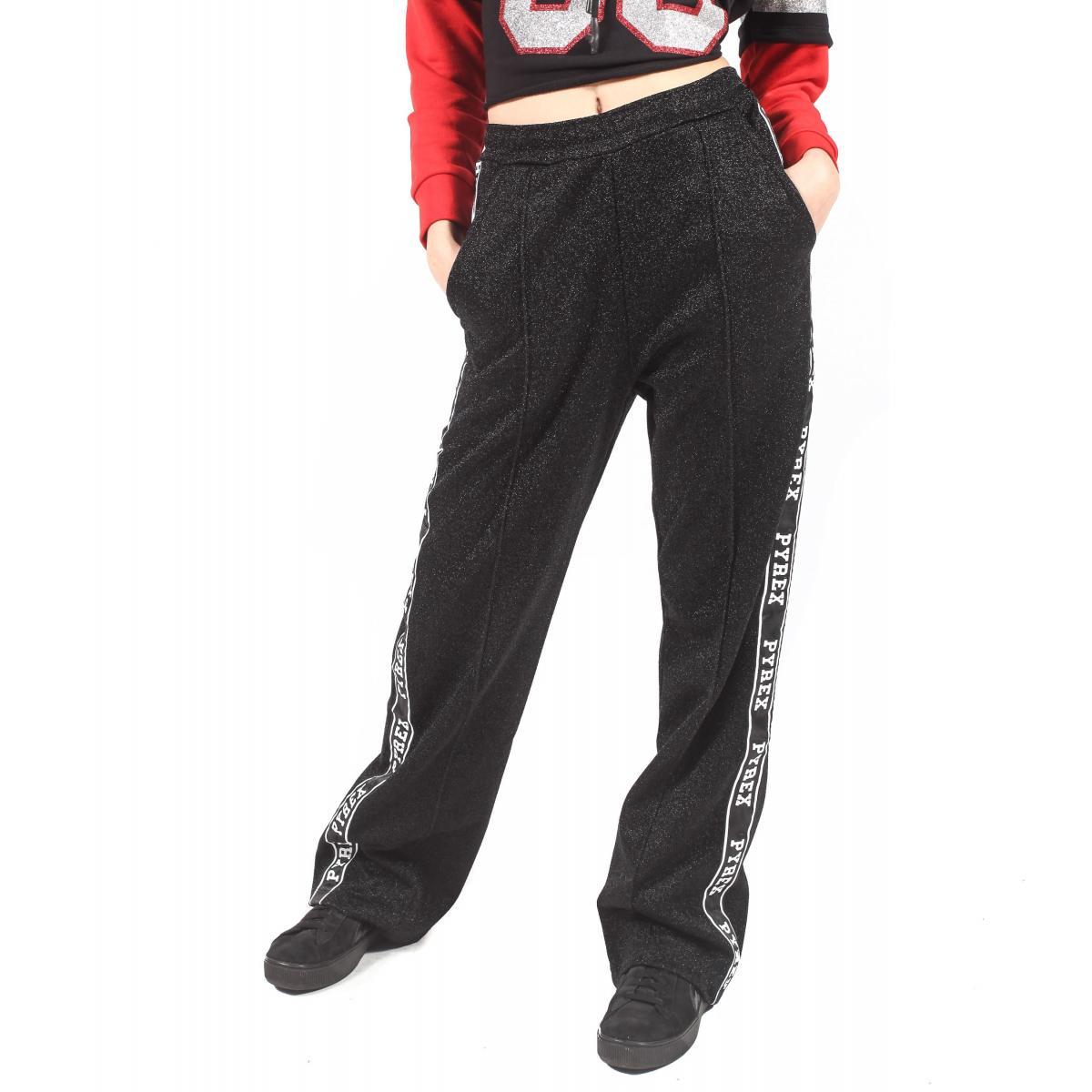 Pantalone Pyrex da donna con fondo largo rif. 18IPC34514