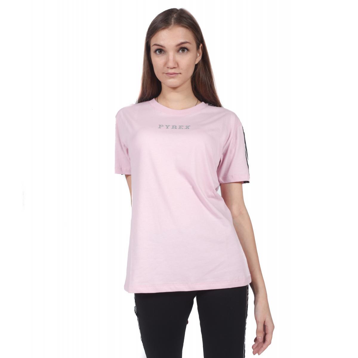 T-Shirt Maglia Pyrex con logo da donna rif. 18IPC34408