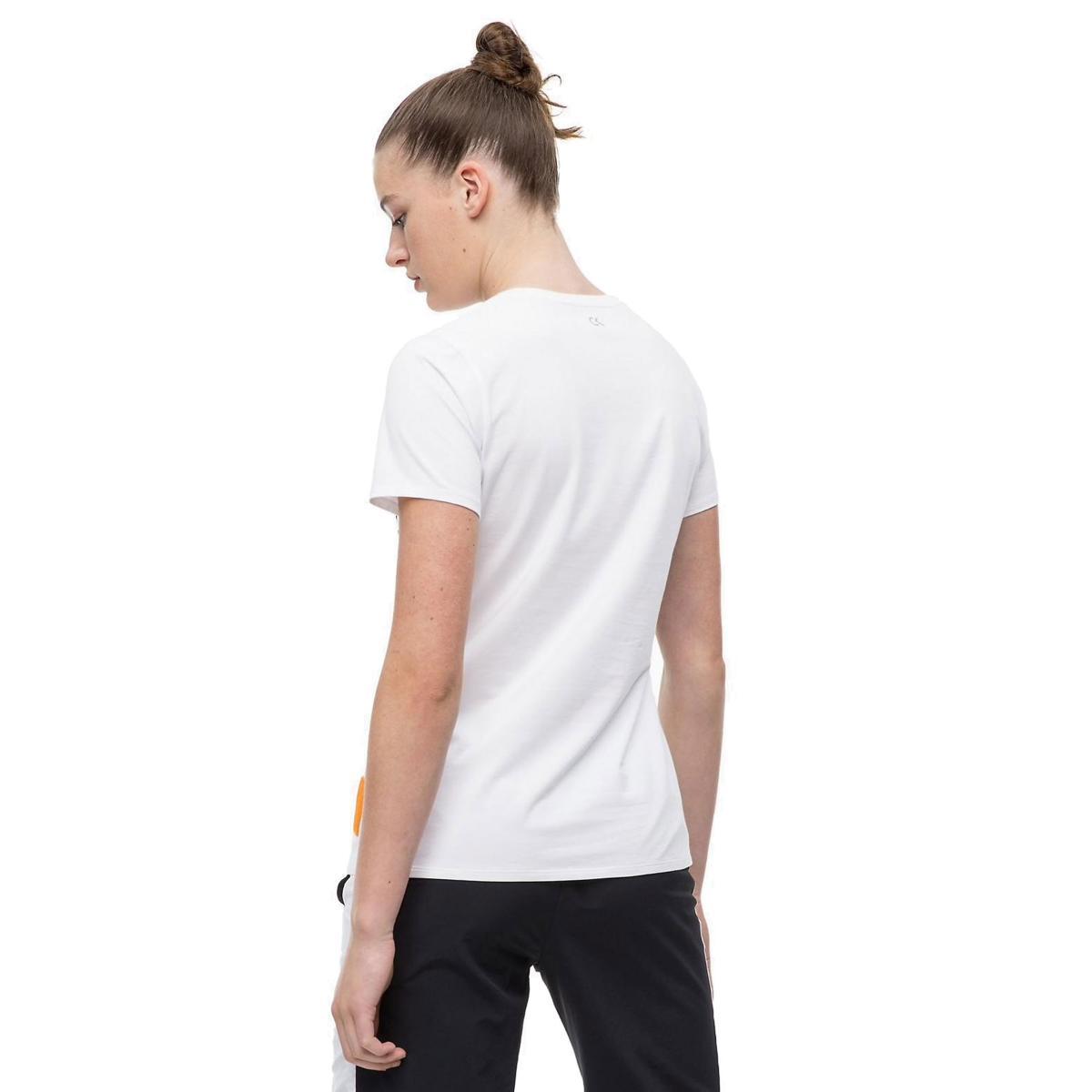T-shirt con logo Calvin Klein Performance da donna rif. 00GWF8K142