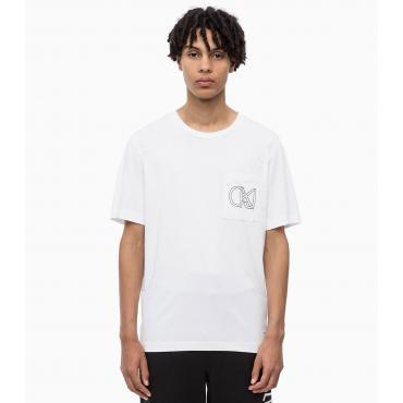 T-shirt in cotone biologico Calvin Klein Jeans da uomo rif. J30J309612