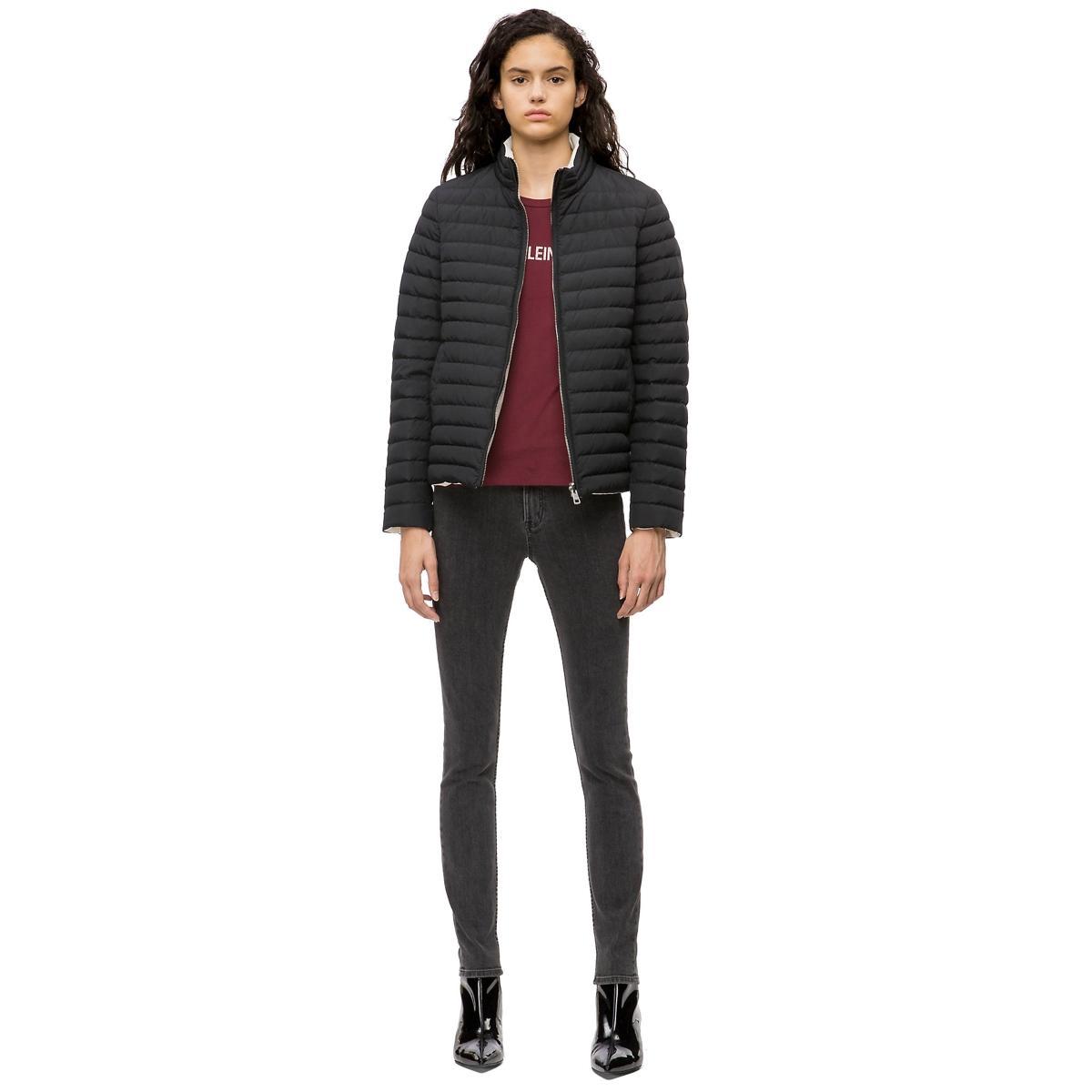 Giubbotto piumino Calvin Klein Jeans reversibile imbottito da donna rif. J20J207785