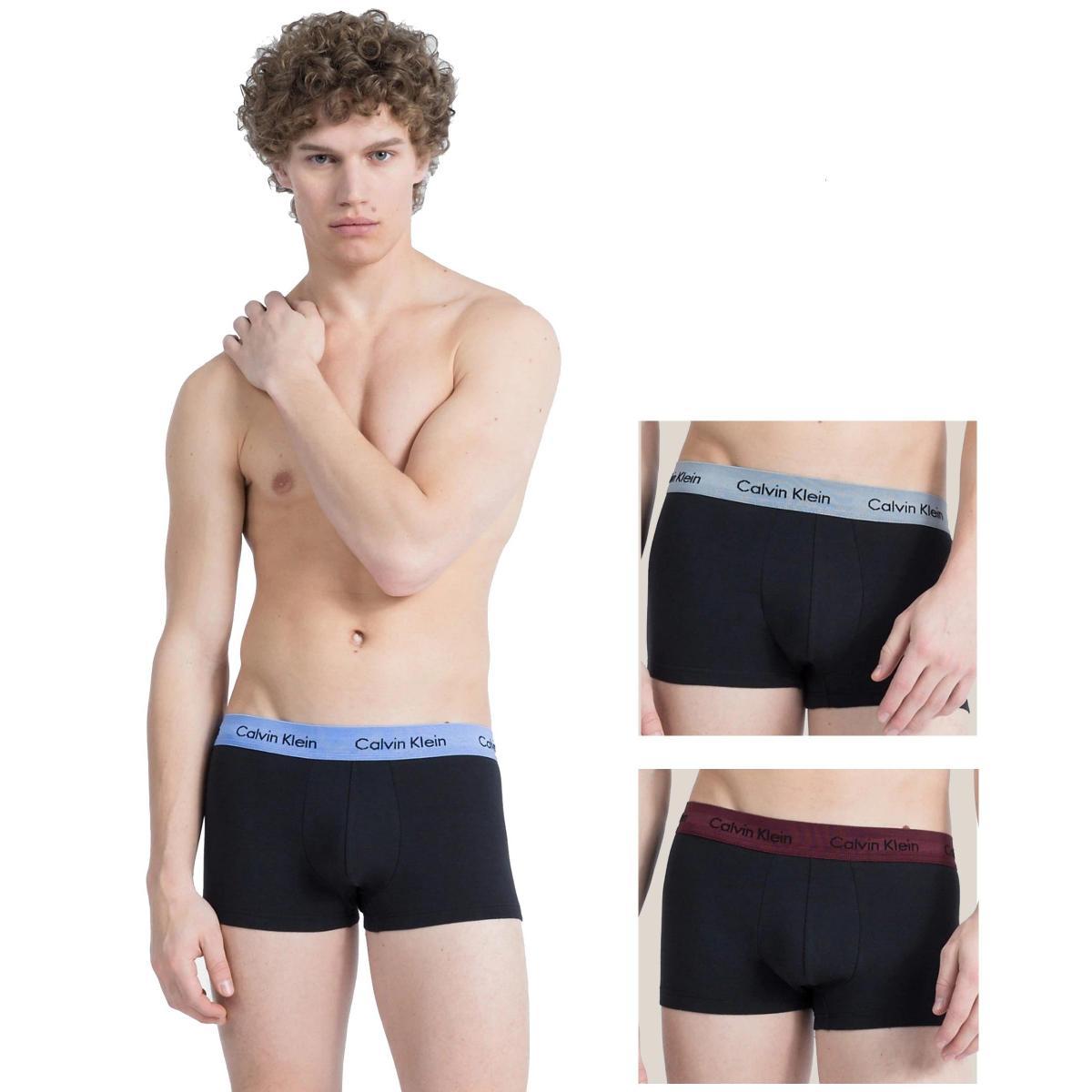Boxer Calvin Klein Underwear aderenti in confezione da 3 da uomo rif. U2664G