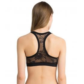 Reggiseno Bralette Calvin Klein Underwear CK Black Floral da donna rif. QF4906E