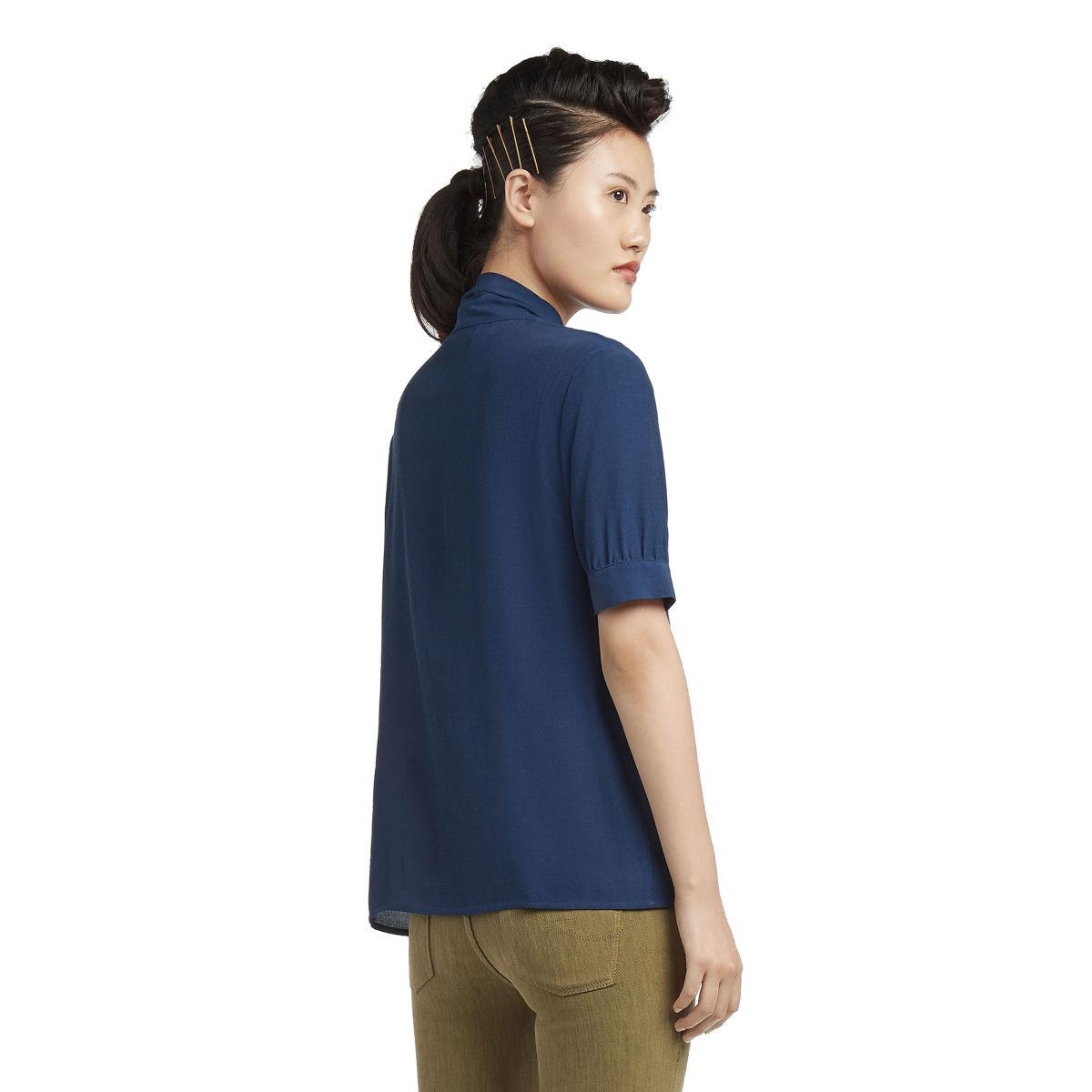 Camicia Blusa TRUSSARDI con fiocco da donna rif. 56C00150-1T001504