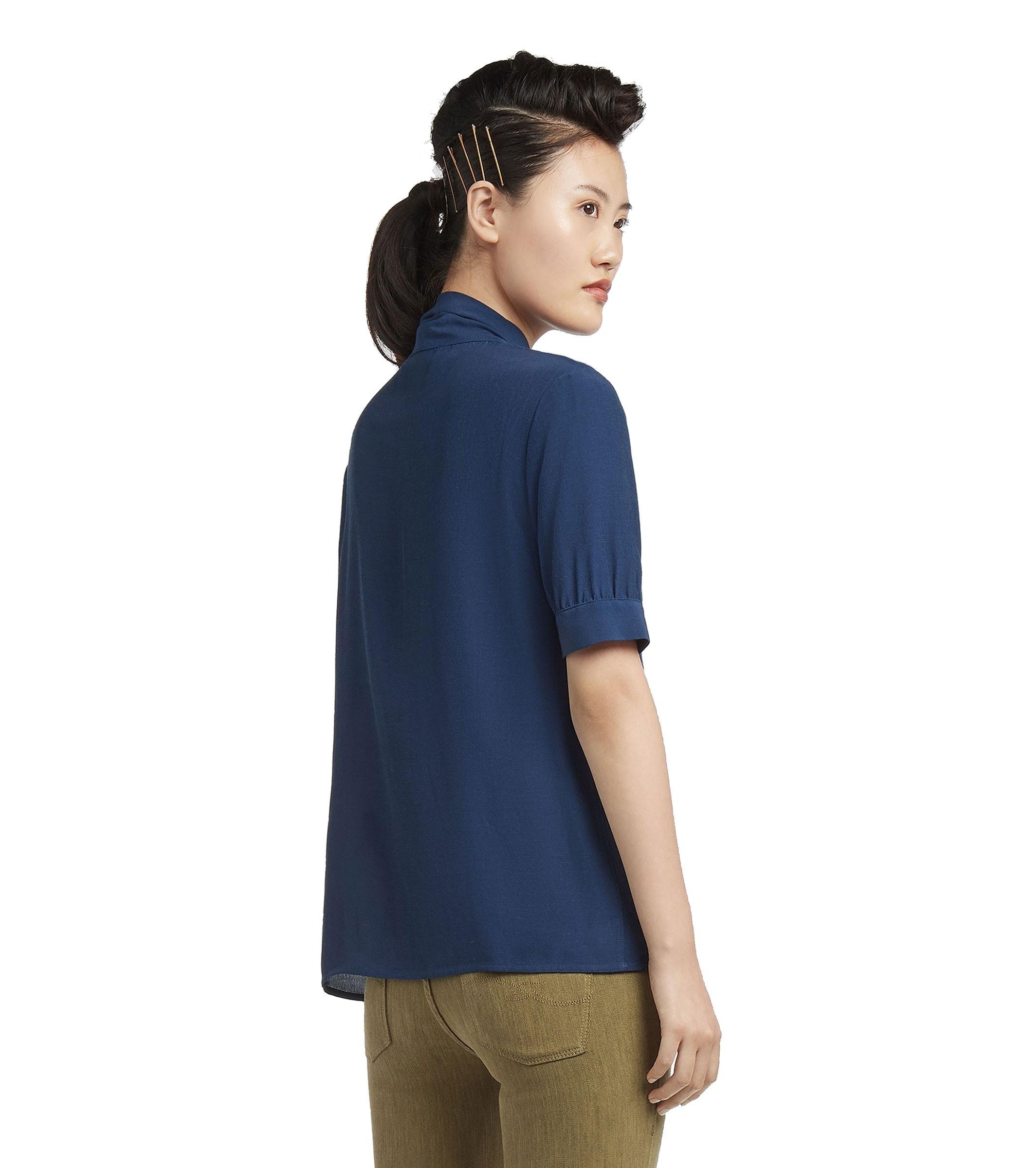 69cd2bae62 Camicia Blusa TRUSSARDI con fiocco da donna rif. 56C00150-1T001504