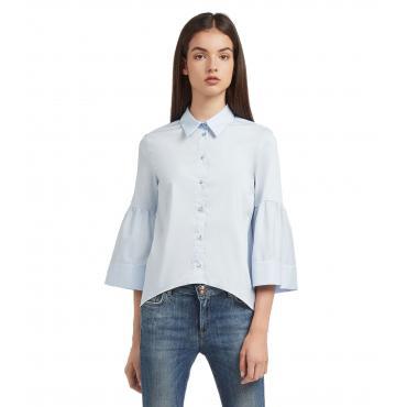 Camicia Blusa TRUSSARDI con colletto da donna rif. 56C00116-1T001552