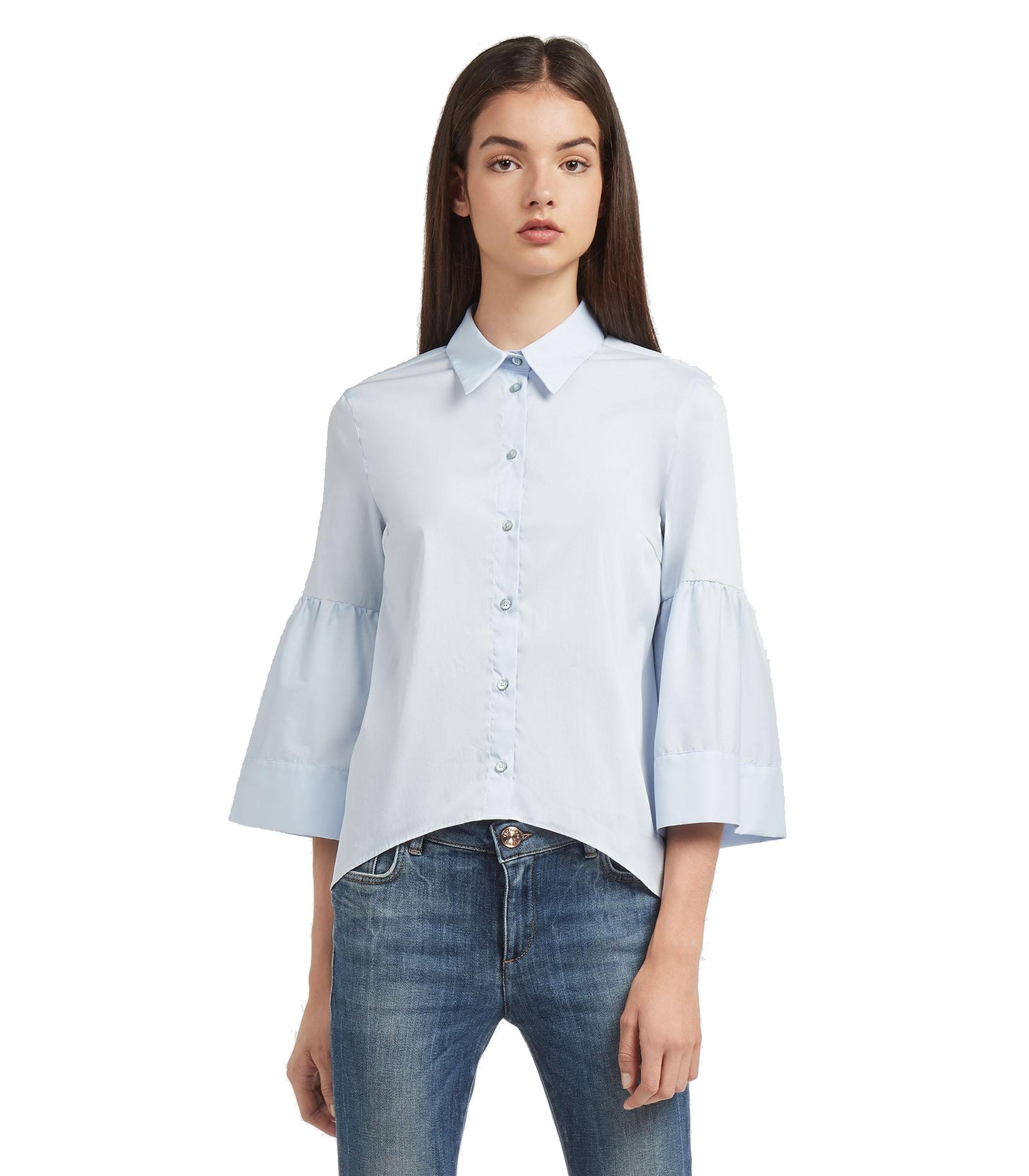 wholesale dealer bfa49 02b7d Camicia Blusa TRUSSARDI con colletto da donna rif. 56C00116 ...