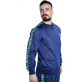 Felpa maglia INVICTA girocollo con bande con logo da uomo rif. 4454183UP