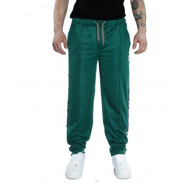 Pantalone tuta INVICTA con bande con logo da uomo rif. 4447112UP