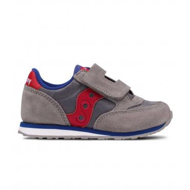 Scarpe Sneakers Saucony Jazz HL Grey/Red da bambino Rif. SL259641