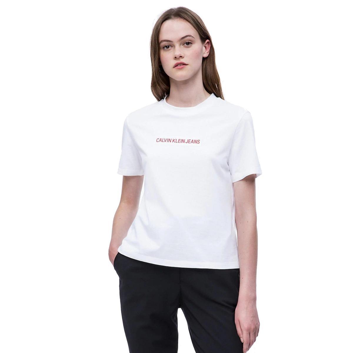 T-shirt corta Calvin Klein Jeans da donna rif. J20J209726