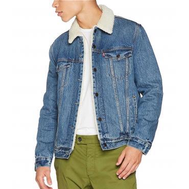 Giubbotto giacca Levi's Sherpa Trucker Jacket da uomo rif. 16365-0040