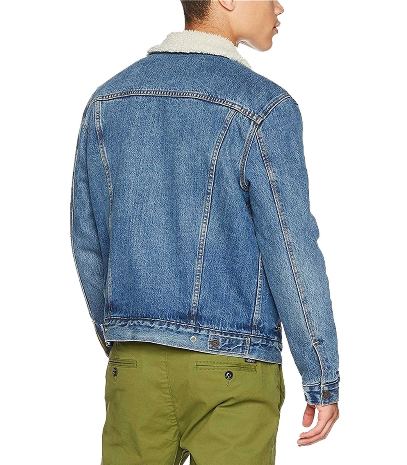Giubbotto giacca Levi s Sherpa Trucker Jacket da uomo rif. 16365-0040 2a52d80f81f