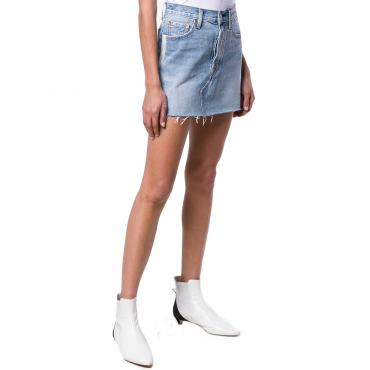 Gonna Levi's di jeans Deconstructed Skirt da donna rif. 34963-0030