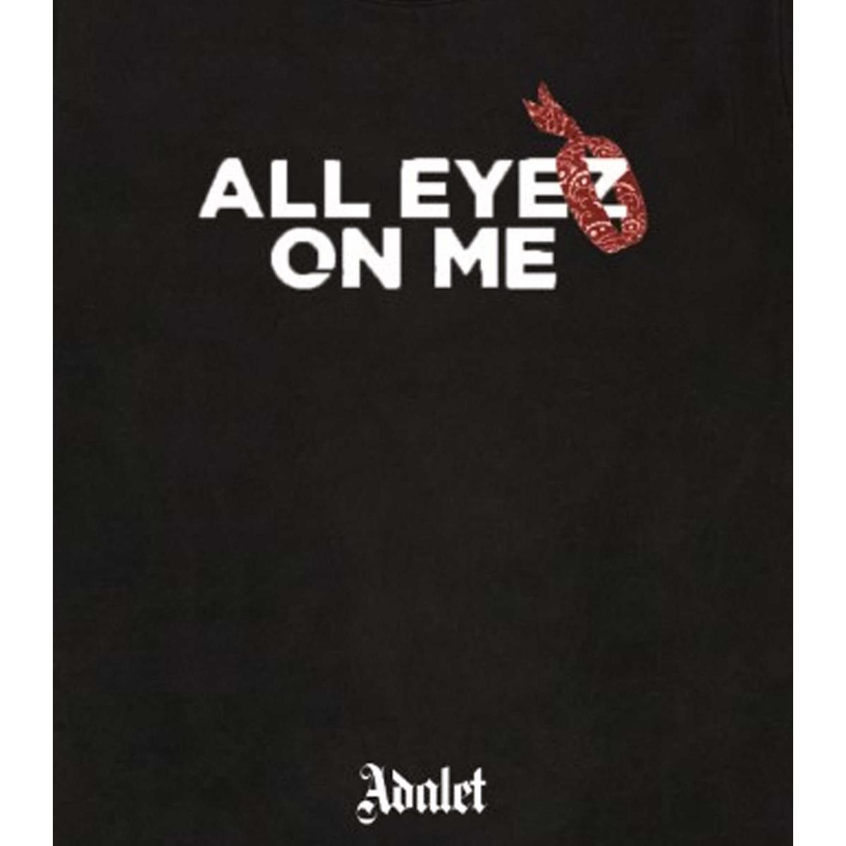 "Felpa Adalet Limited Edition con stampa ""All Eyez on Me"" unisex rif. ADALL2"