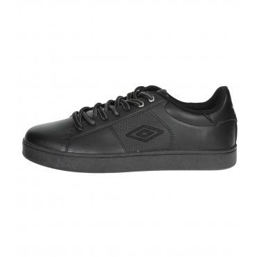 Scarpe Sneakers in eco pelle Umbro basse da uomo rif. RFP38000S-TOB/BLC