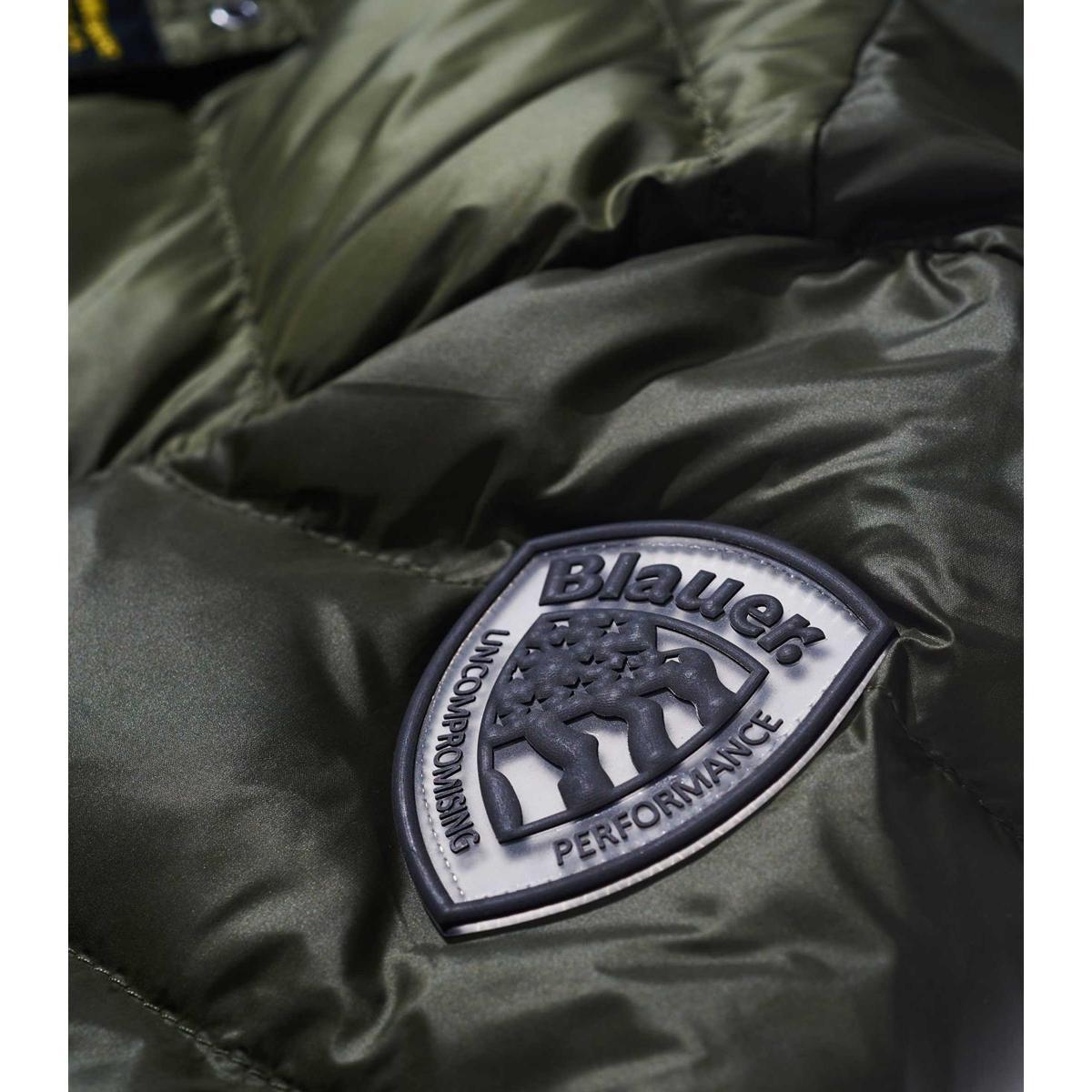 Piumino da Uomo Blauer USA Ultra light con cappuccio fisso rif. 18WBLUC03005-005046