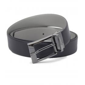 Cintura Armani Exchange reversibile con placchetta e logo traforato da uomo rif. 951060 CC236