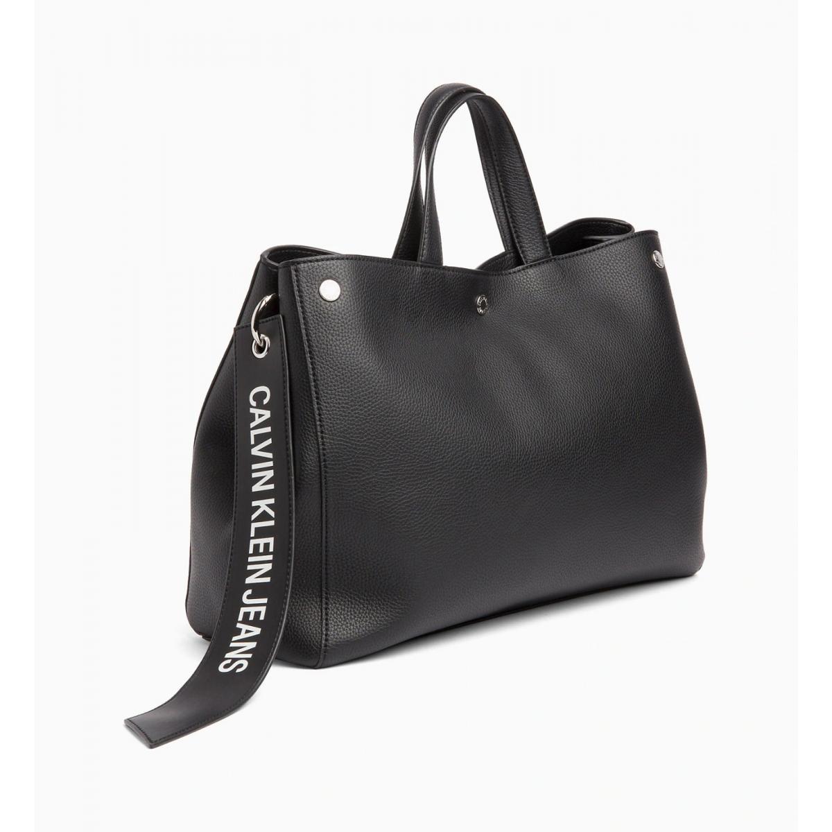 Borsa Calvin Klein Jeans tote con banner logo da donna rif. K40K400821