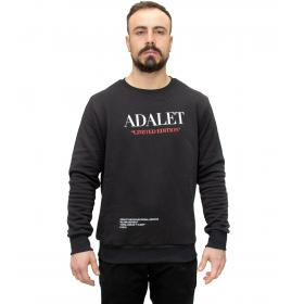 Felpa ADALET Limited Edition con stampe unisex rif. ADEV2