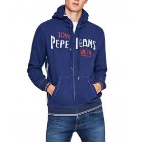 """Felpa con cappuccio e zip Pepe Jeans """"Misfit"""" da uomo rif. PM581478"""