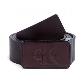 Cintura Calvin Klein Jeans con placca monocromatica da uomo rif. K50K504167