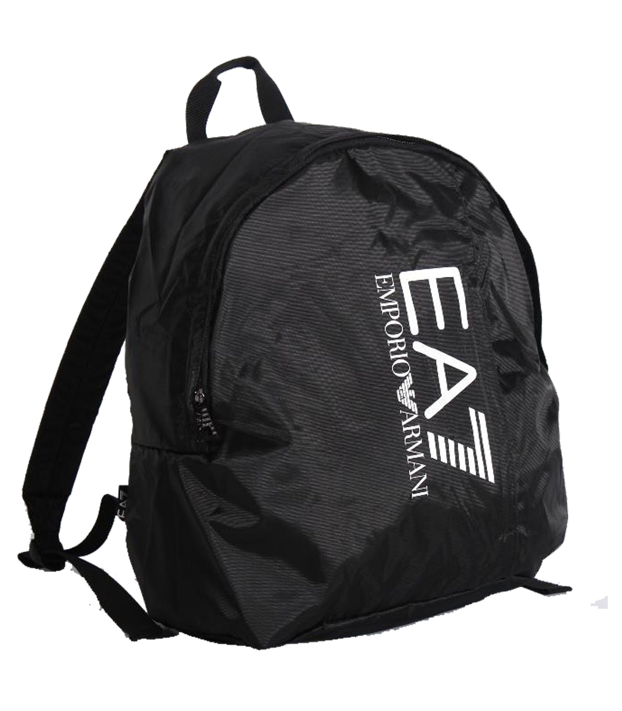 51bc9b5c33 Zaino Emporio Armani EA7 con logo nero unisex rif. 275667 CC733 00020