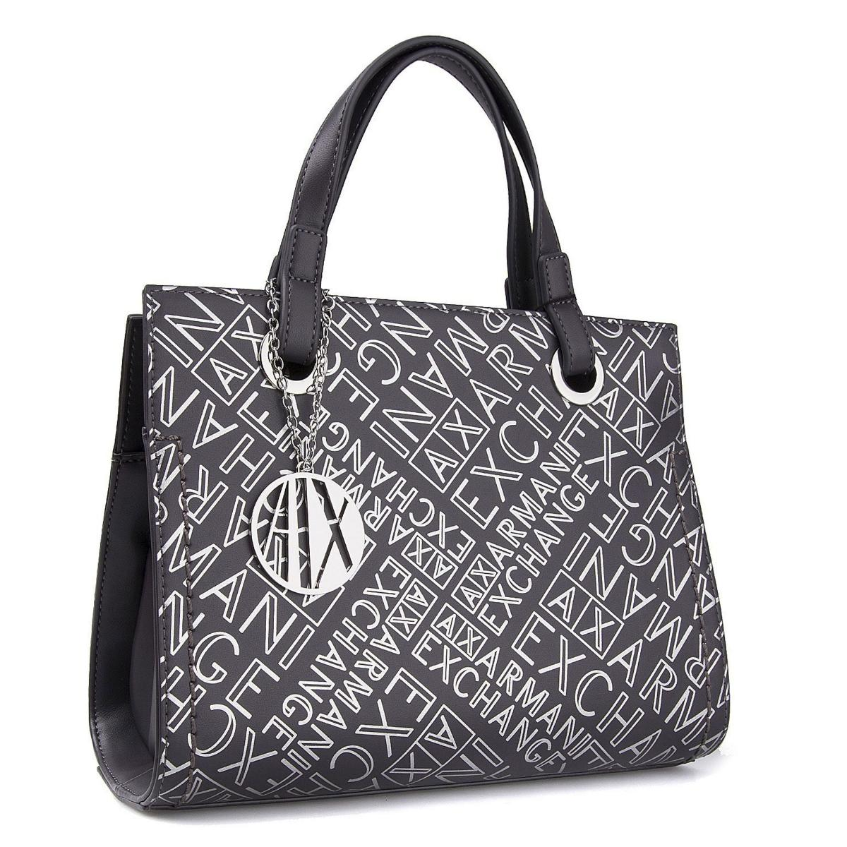 Borsa Armani Exchange Small shopping con stampe da donna rif. 942270 CC734