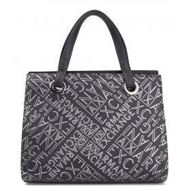 Borsa Armani Exchange Small shopping con stampe da donna rif. 942270 CC734