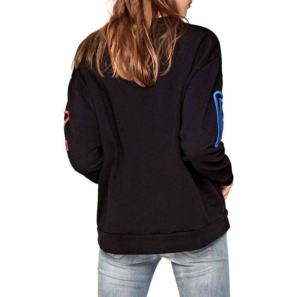 """Felpa girocollo con logo Pepe Jeans """"Colette"""" da donna rif. PL580751"""